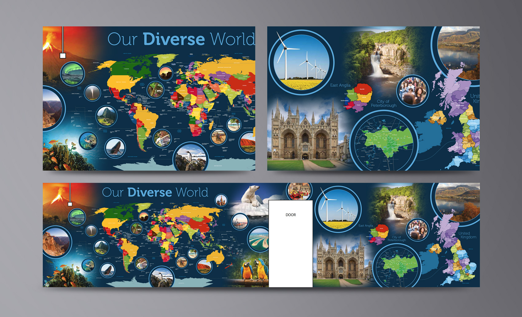 Ken Stimpson Geography Wall Graphics