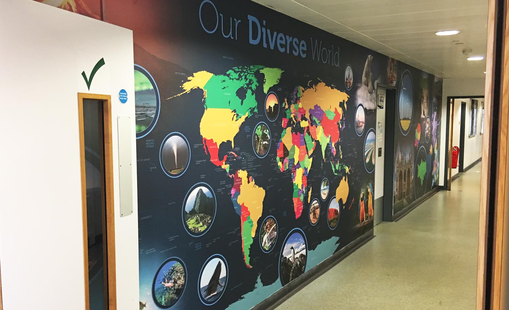 KSCS Geography Wall Art 1