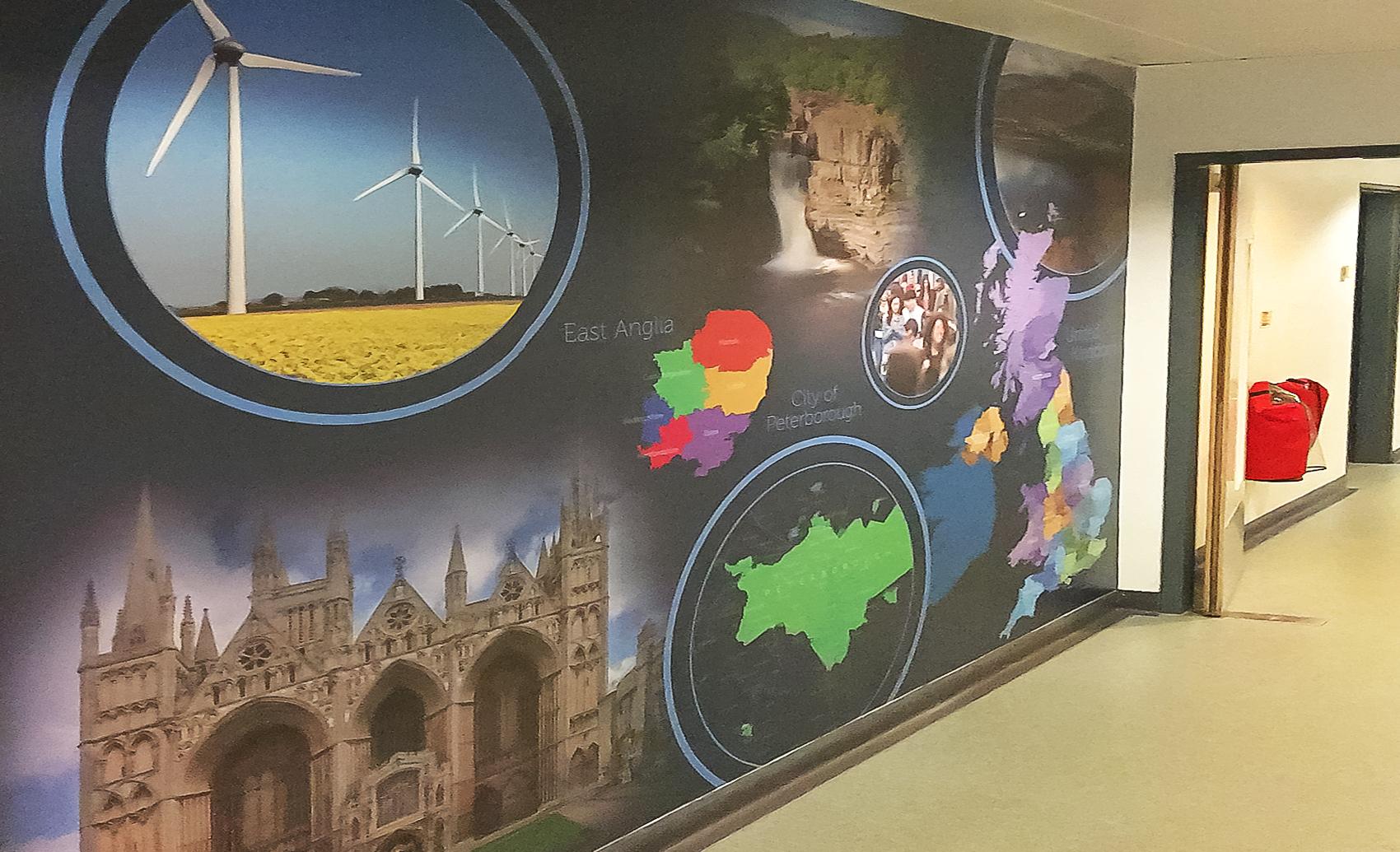 KSCS Geography Wall Art 2