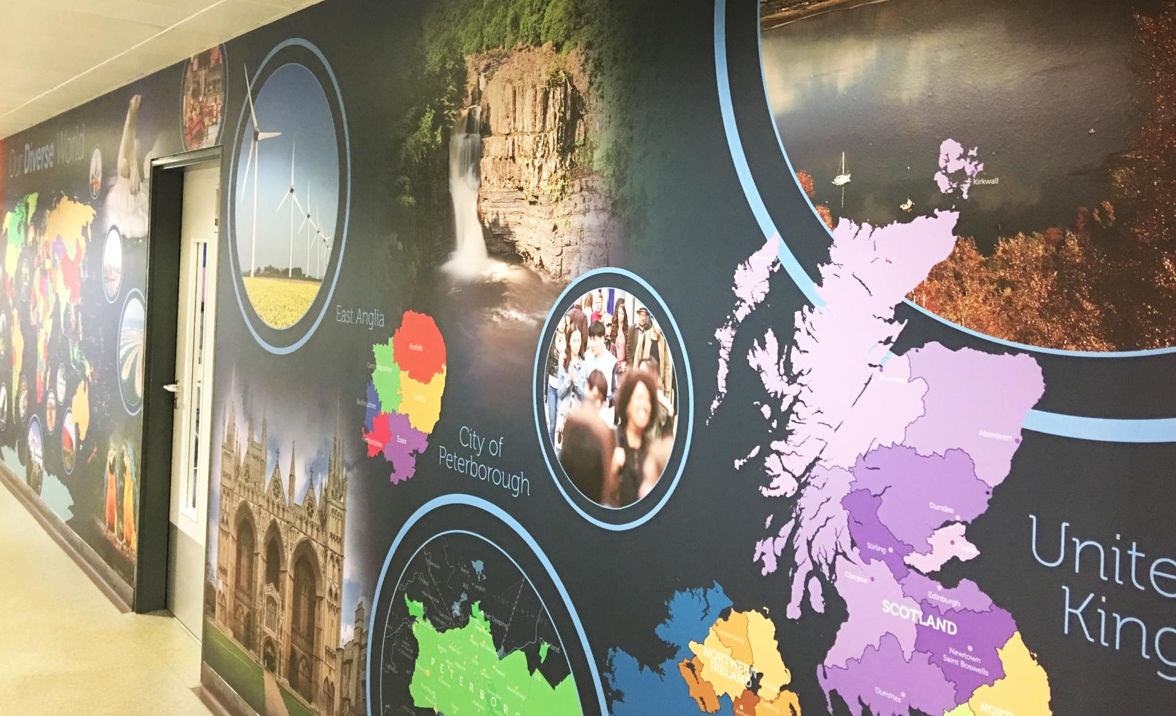KSCS Geography Wall Art 3