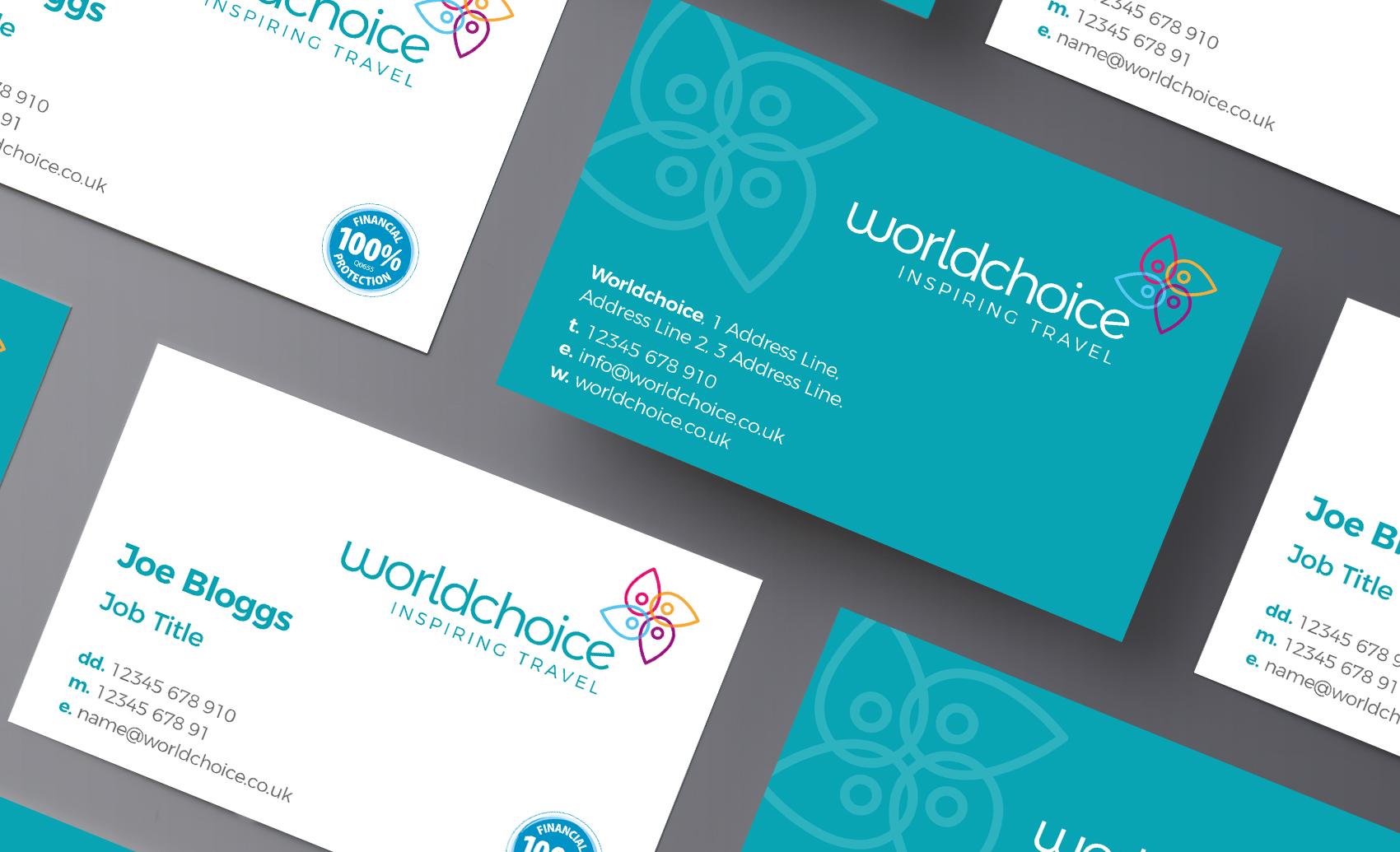 Worldchioce Business Card